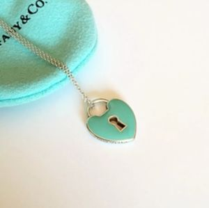 Sterling Silver Tiffany & Company Heart Necklace